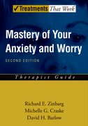 Mastery of Your Anxiety and Worry: Therapist Guide