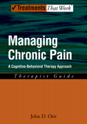 Managing Chronic Pain: Therapist GuideA Cognitive-Behavioral Therapy Approach